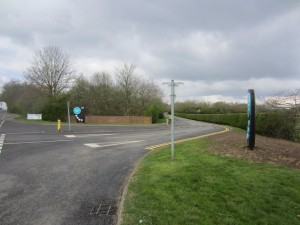 Both Draycote Entrance CNC Signs