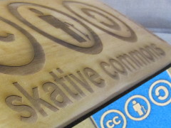 skative commons laser skateboard deck grip design